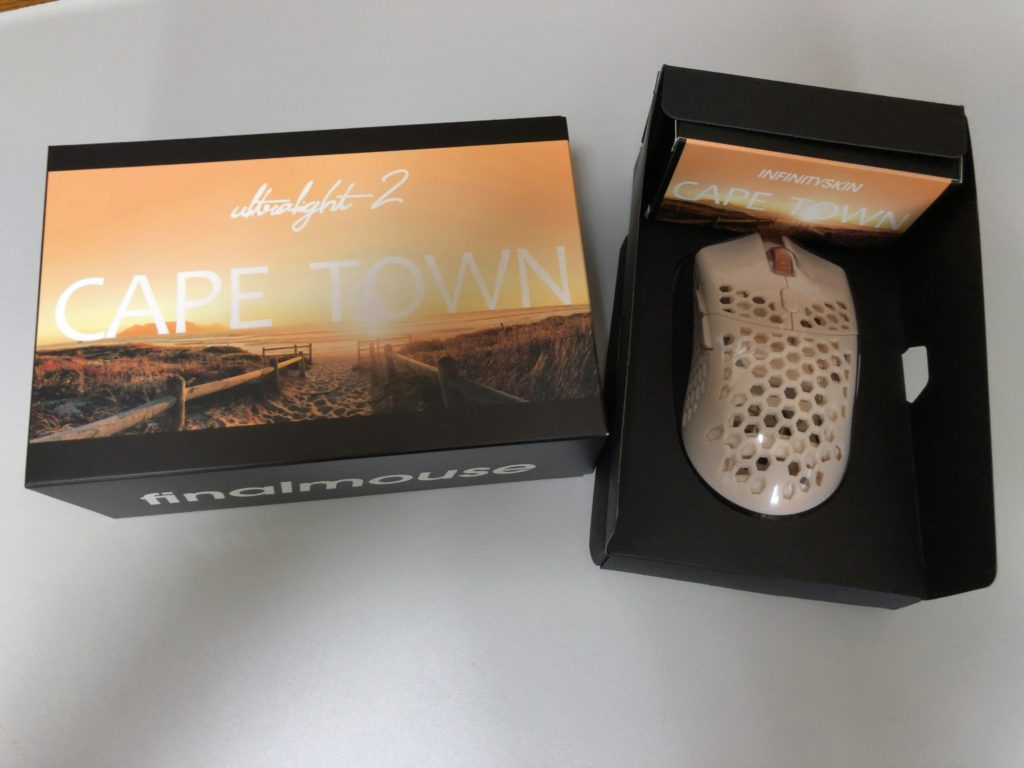 Finalmouse Ultralight 2 CAPE TOWN 開封